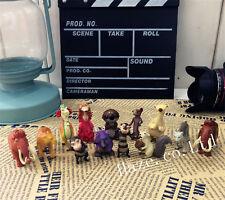 De la glace Âge 5 Enfants Afficher Figurines Poupée Jouer Jouet gâteau Décor 12p