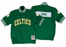 Larry Bird 1983-84 Mitchell Ness Authentic Shooting Shirt Boston Celtics 48
