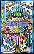 "Grateful Dead ""Pinball Machine"" 3D Tapestry 60 x 90  - FREE PRIORITY MAIL"