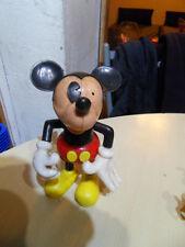 ancien  jouet  vintage toys  Figurine montable articulé  mickey 12 cm