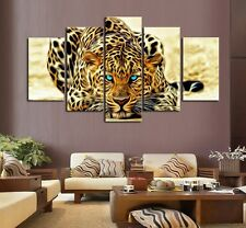 Home Decor Leopards Tiger Animal Wild Wall Painting Art On Canvas Prints Picture