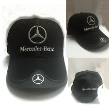 Benz Racing Black Mercedes Baseball Golf F1 Trucker Ladies Gents mesh Cap Hat b1