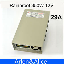 350W 12V 29A Rainproof outdoor Single Output Switching power supply smps for LED
