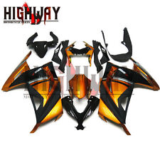 Fairings For Kawasaki Ninja 300 13 14 EX300R Fairing Kit Bodywork Orange Black