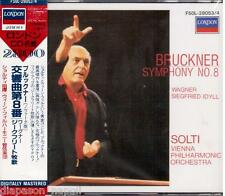 Bruckner: Symphony (Sinfonia) No 8 / Solti, Vienna Philarmonic - CD London Japan