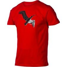 Nixon Fly Short Sleeve Tee T-Shirt (XL) Red S1653200-05