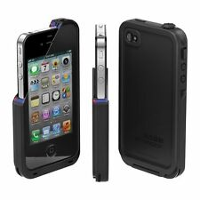 New LifeProof iPhone 4/4s Case Water Proof Dirt Proof Snow Proof  Black