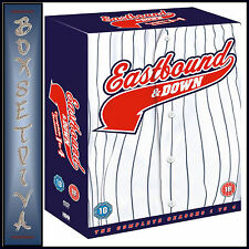 EASTBOUND AND DOWN - COMPLETE SERIES - SEASONS 1 2 3 & 4  **BRAND NEW DVD***