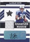 LenDale White USC 2006 Leaf Rookie & Stars AUTO JERSEY /249