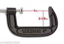 4 in. Heavy Duty C-Clamp Tekton 4017