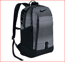 """Nike ALPHA RISE ADAPT 17"""" Laptop / Tablet Backpack - X-LARGE GRAPHIC Black Gray"""