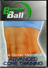 The BENDER BALL Method of: ADVANCED CORE TRAINING on a DVD Ab ABS WORKOUT Video!
