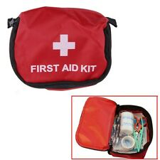 First Aid Kit 0.7L Red Camping Emergency Survival Bag Bandage Drug Waterproof FE