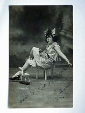 AUTOGRAFO Autograph JOLE PACIFICI attrice cinema muto silent movie foto Badodi 3