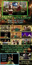 VIRTUAL SANTA, SANTA'S WORKSHOP, ELF TOY FACTORY DVD by Jon Hyers