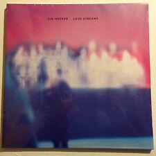 TIM HECKER Love Streams Limited 2LP CLEAR x/500 Sold Out Sealed 4AD Records