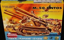 Revell Monogram Renwal M-50 Ontos tank model kit  1/32