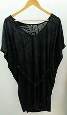 F&F Black Top Size S Beach Dress  J1825
