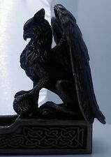 Celtic Griffin Incense holder Gryphon Sculpture Incense burner for stick incense