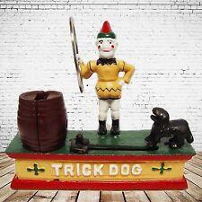 Mechanische Spardose Trick Dog Geschenk Vintage Deko Spielzeug