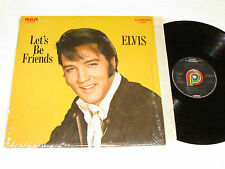ELVIS PRESLEY Let's Be Friends LP CAS 2408 Pickwick Records Canada VG/VG+