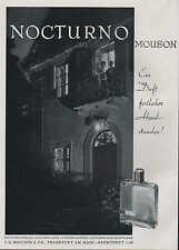 FRANKFURT/MAIN, Werbung / Anzeige um 1910, J. G. Mouson & Co. Nocturno-Parfum