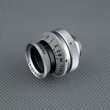D - mount, scarce uncoated KINO PLASMAT 1.5 / 12.5 cm, Hugo Meyer Rudolph 20 ☆☆☆