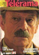 telerama n°1868 yves montand rambo mickey rourke michael cimino 1985