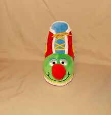 Melissa & Doug K's Kids Learning Shoe Tie Zip Button Developmental Toy plush