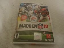 Madden NFL 10 Video Game (Nintendo Wii, 2009) NFL PLAYERS New Sealed