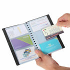 120 Sheets Business Name ID Bank Credit Cards Holder Book Case Organizer New FLO