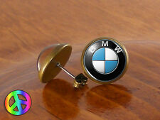 Men Mens Earrings Stud Studs Car BMW Vintage Jewelry Gift Gifts