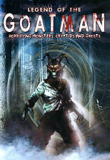 Legend of the Goatman: Horrifying Monsters, Cryptids and Ghosts (DVD, 2013) Used