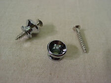 FENDER SQUIER STRAT STRAP BUTTONS w/MOUNTING SCREW REPLACEMENT STRATOCASTER TELE