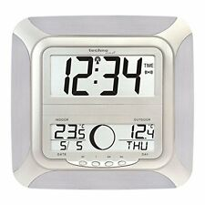 Technoline WS8118 Jumbo Wall Clock with Moon Phase Display