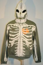 LRG Halloween Dead serious skull limited edition Rare hoodie size L $260