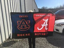 NEW AU vs. AL House Divided 3'x5' Rivalry Flag  Officially Licensed Collegiate