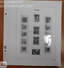 Used DAVO album pages - Finland - 2002-2005 (14 pages)