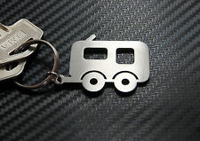 CARAVAN Travel Trailer Tour Holiday Camping Club Keyring Keychain Key Fob Gift