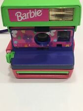 Vintage Mattel Barbie Polaroid 600 Flash Camera Untested