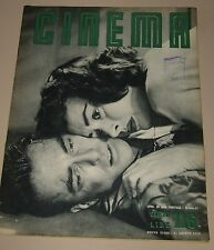 CINEMA=1953=ITALY MAGAZINE=MONTGOMERY CLIFT DONNA REED BARBARA LAAGE COVER