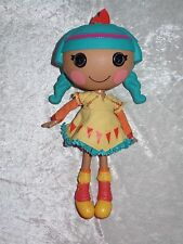 Lalaloopsy Feather Tell-A-Tale Full Size Doll Blue hair Shoes Clothes