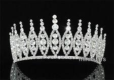Braut Hochzeit Hohe Qualität Diadem Verwenden Swarovski Kristall T1298