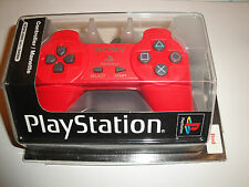 BRAND NEW Sony Playstation 1 Classic RED PS1 Controller SCPH-1080 URJ/94086