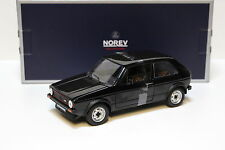 1:18 norev vw golf 1 GTI 1976 Black New en Premium-modelcars