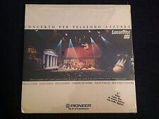 DE ANDRE GUCCINI CONCERTO TELEFONO AZZURRO Laser Disc LD 1990 SIGILLATO SEALED