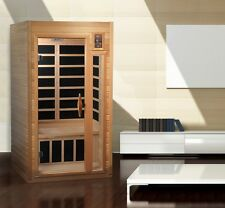 Dynamic 1-2 Person Low EMF Far Infrared Sauna Barcelona 6 Carbon Heating Panels