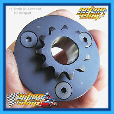 "GO KART "" 10 or 11 TOOTH LEOPARD ENGINE CLUTCH SPROCKET "" THREE HOLE + SCREWS"