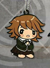 Dangan Ronpa Rubber Chihiro Licensed Key Chain NEW
