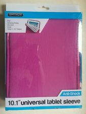 "OPTIMUM 10.1"" UNIVERSAL TABLET SLEEVE IN PINK COLOUR"
